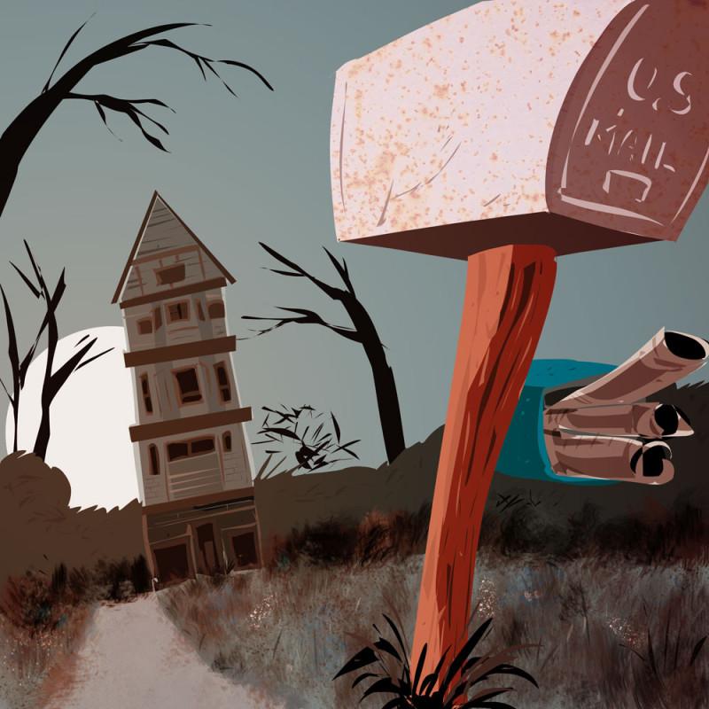 Moonlight Mailbox