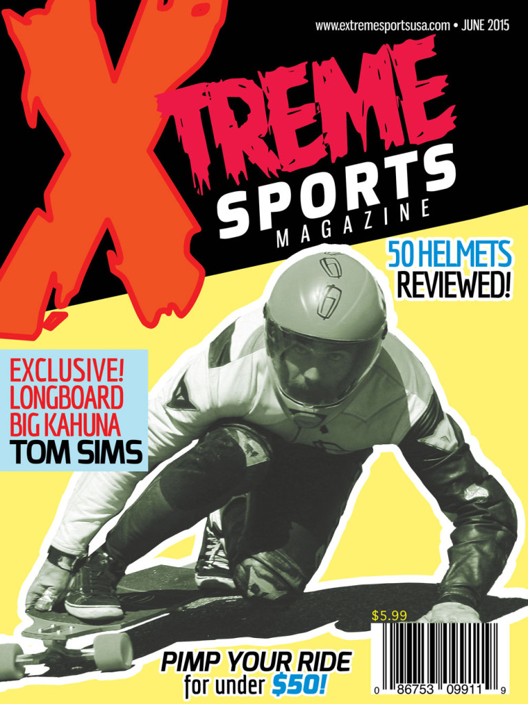 process work  extreme sports magazine cover  u2013 krishna