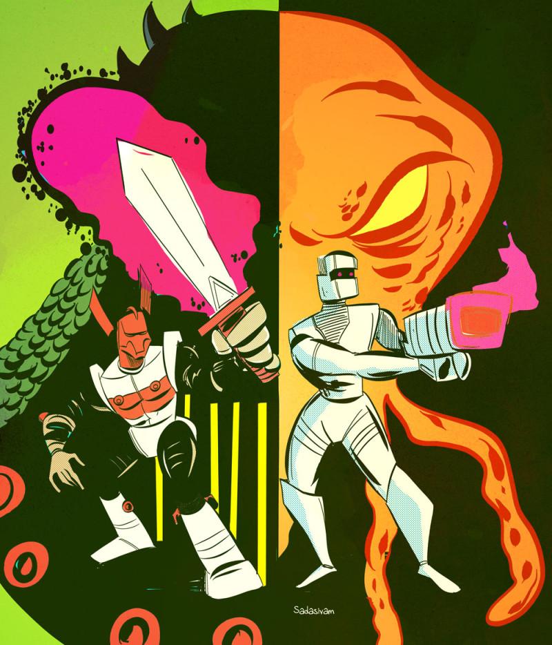 ROM and Micronauts