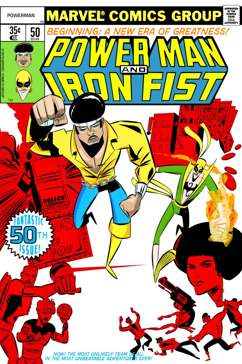 Power Man and Iron Fist 50