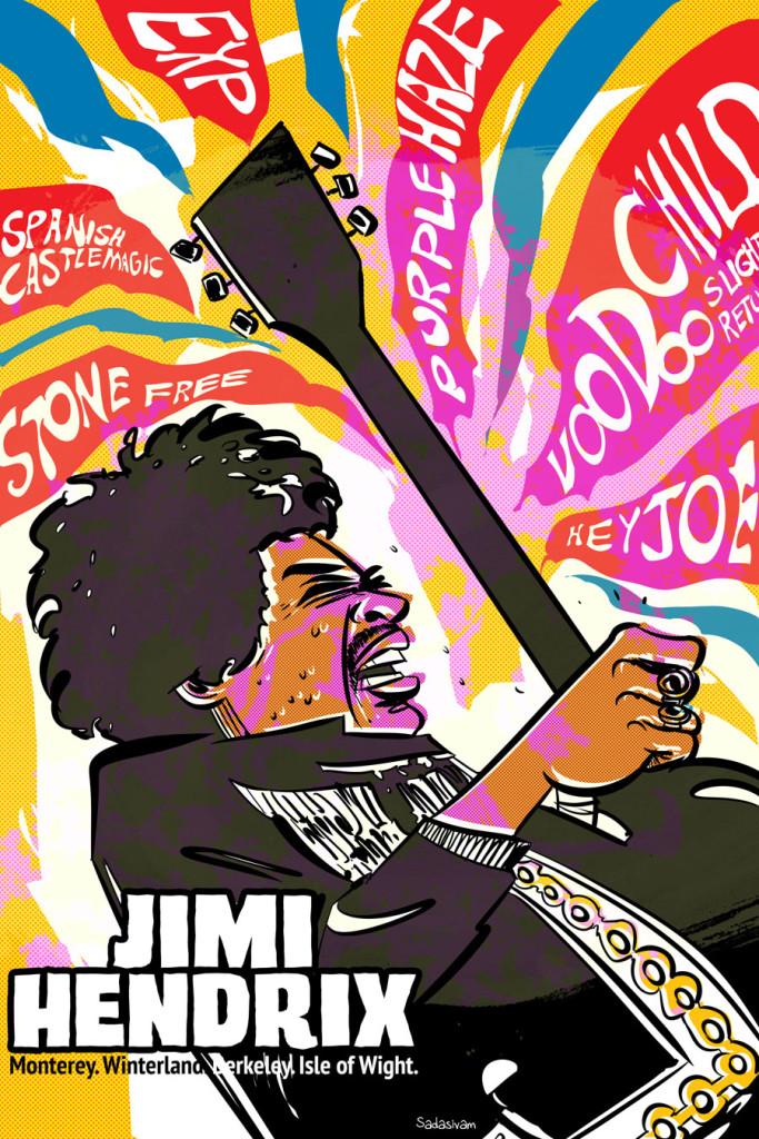 Hendrix_gig_poster