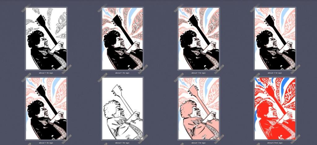 Hendrix process