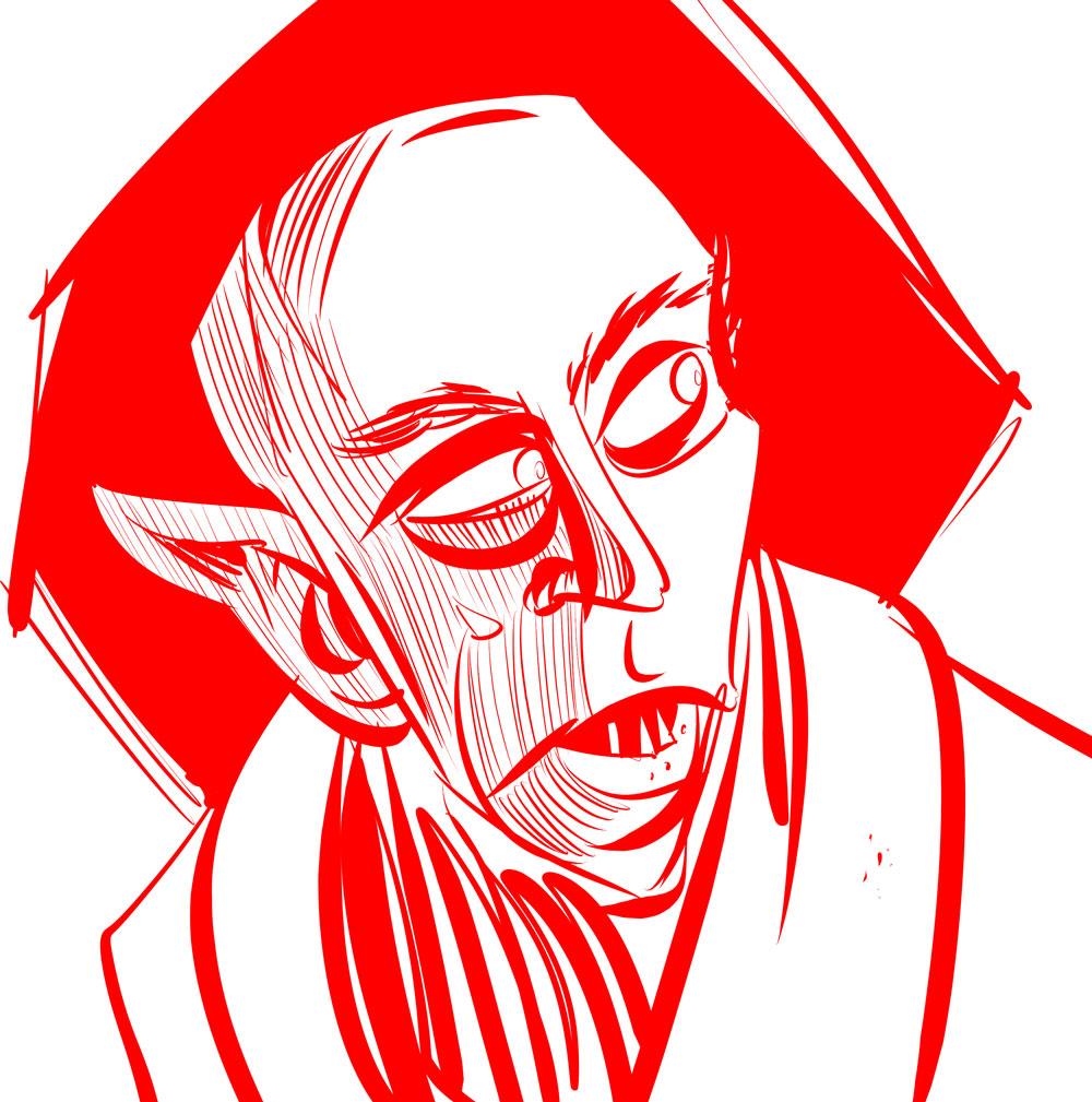 Nosferatu_pencils
