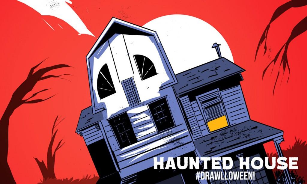 day_007_hauntedHouse