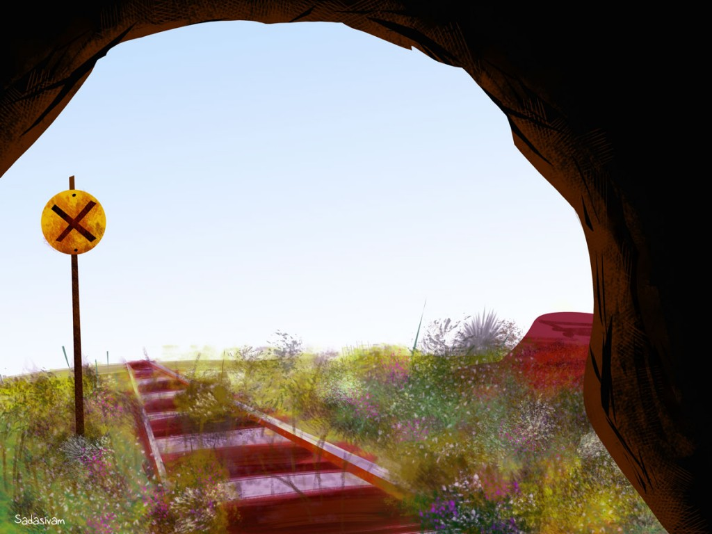 train_tracks_in_cave
