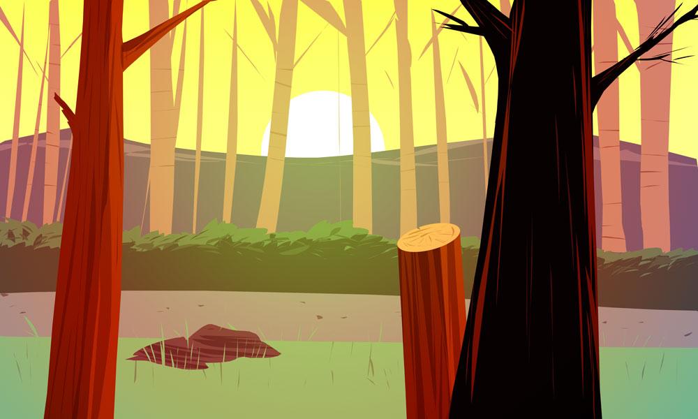 woods_morning