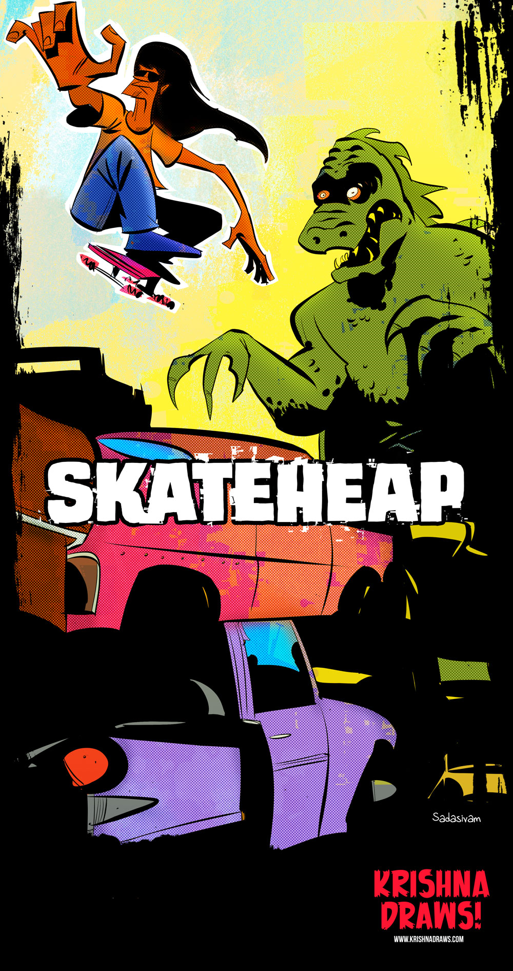 skater_vs_Godzilla